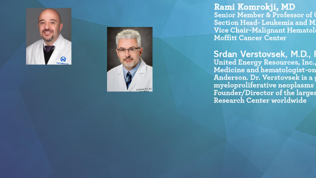 Ask The Experts About COVID-19 and Myeloproliferative Neoplasms (MF - PV - ET) Komrokji Verstovsek
