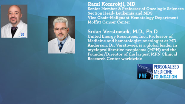 Ask The Experts About COVID-19 and Myeloproliferative Neoplasms (MF - PV - ET) Komrokji Verstovsek Promo