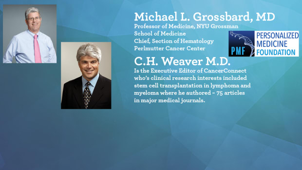 Ask The Experts About Lymphoma Grossbard Weaver Promo
