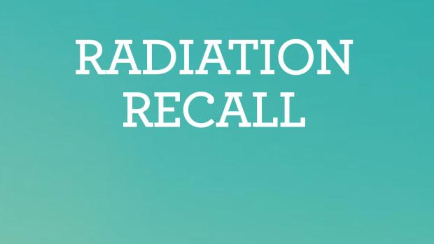 Radiation Recall 1620