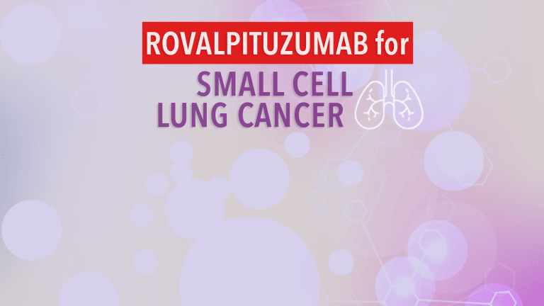 Development  of Rovalpituzumab (Rova-T) Halted in Small Cell Lung Cancer