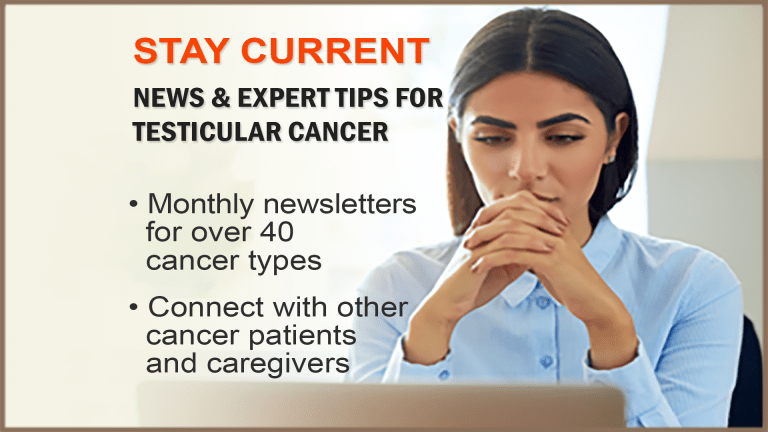 The CancerConnect Testicular Cancer Newsletter