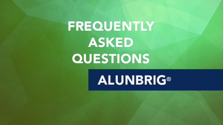 Frequently Asked Questions about Alunbrig® (brigatinib)