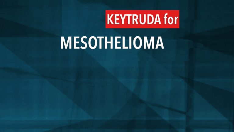 Keytruda Shows Promise in Treatment of Mesothelioma