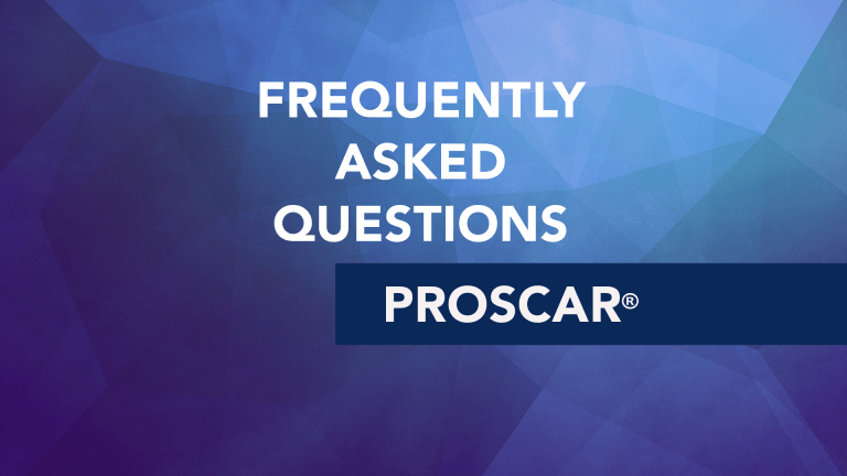 Frequently Asked Questions About Proscar® (Finasteride)