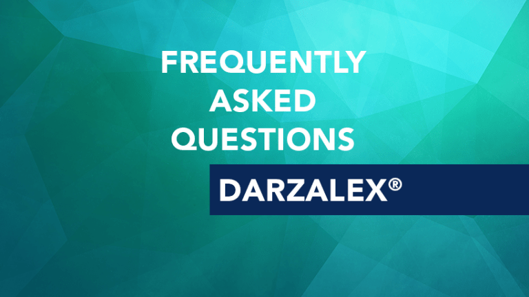 Frequently Asked Questions About Darzalex® (daratumumab)