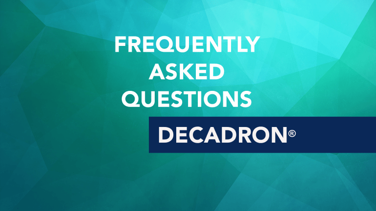 Frequently Asked Questions About Decadron (Dexamethasone)