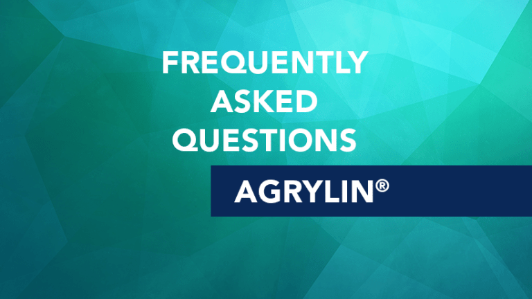 Answers to Frequently Asked Questions About Agrylin®