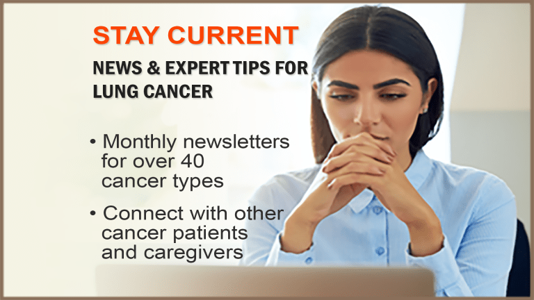 The CancerConnect Lung Cancer Newsletter