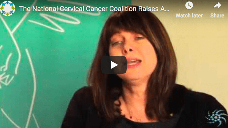 The National Cervical Cancer Coalition Raises Awareness