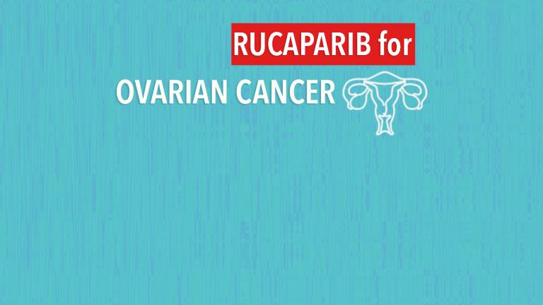 Drug Rucaparib Promising in Pretreated BRCA-Positive Ovarian Cancer