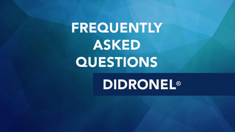 Frequently Asked Questions About Didronel® (Etidronate)