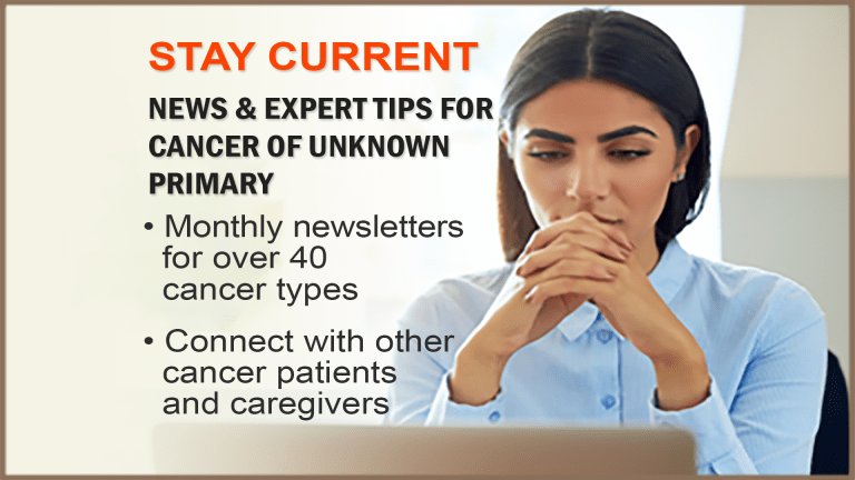 Cancer of Unknown Primary Newsletter