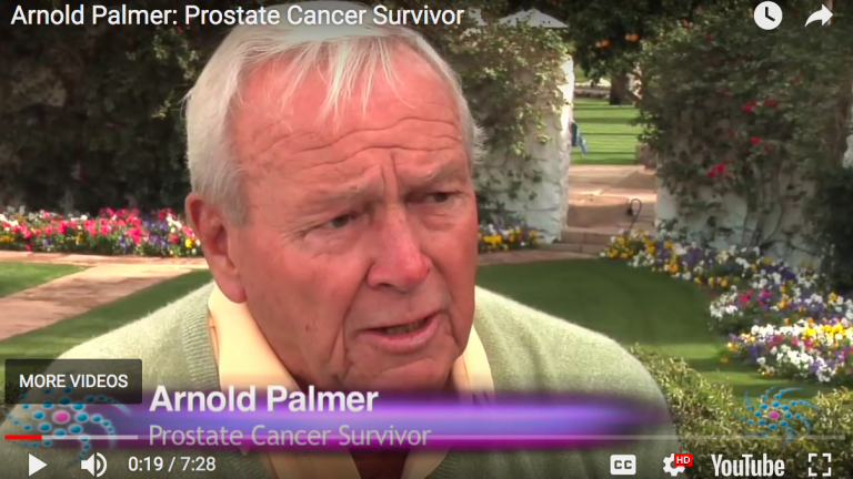 Arnold Palmer Discussed His Battle With Prostate Cancer