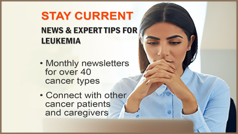 The CancerConnect Leukemia Newsletter