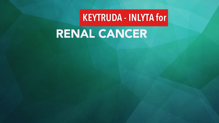 Keytruda- Inlyta Treatment Combination Improves Outcomes in Renal Cell Cancer