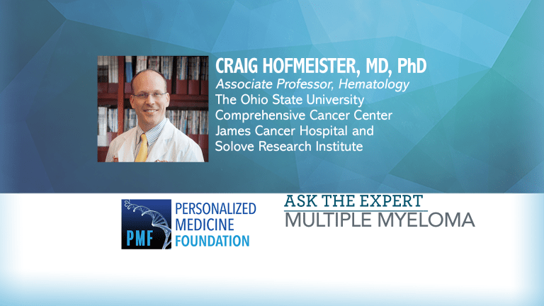 Ask the Expert: Multiple Myeloma