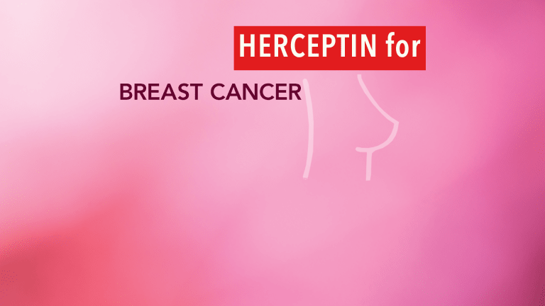 Herceptin® Improves Cancer-Free Survival in HER2 + positive Early Breast Cancer