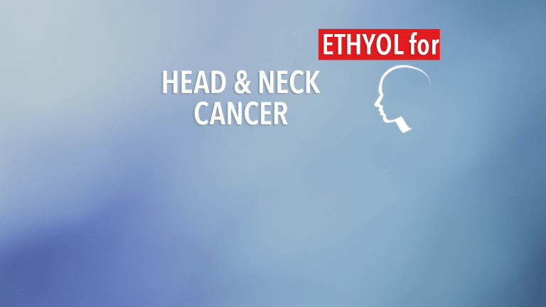 Ethyol® Allows Greater Tolerability of Chemotherapy in Head and Neck Cancer