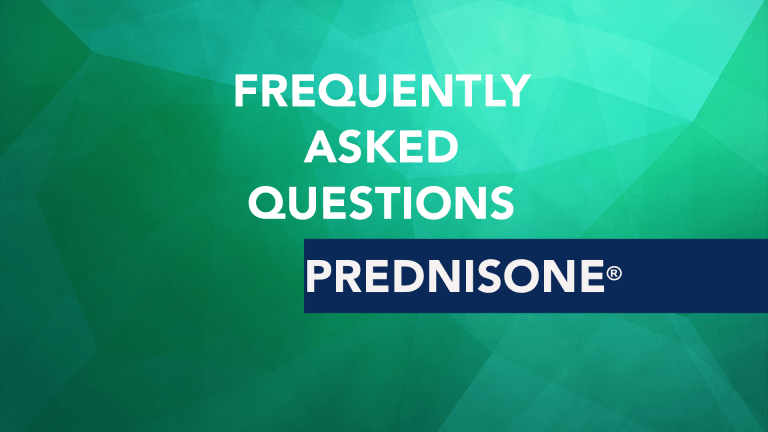 Frequently Asked Questions About Prednisone