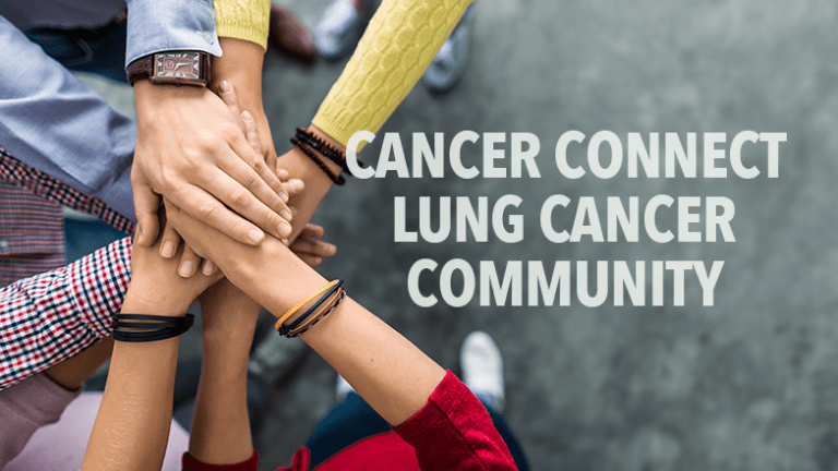CancerConnect - November is Lung Cancer Awareness Month