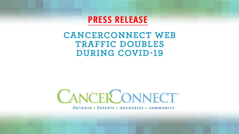 Cancer Patients Turn to On-Line Resources During COVID-19 Pandemic
