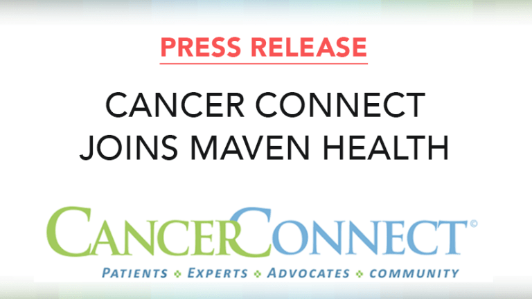 Cancer Connect Joins Maven Health Network