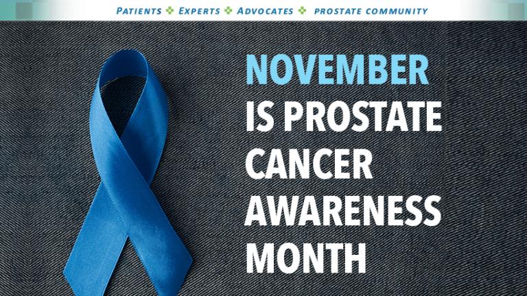 November Brings Awareness to Prostate Cancer