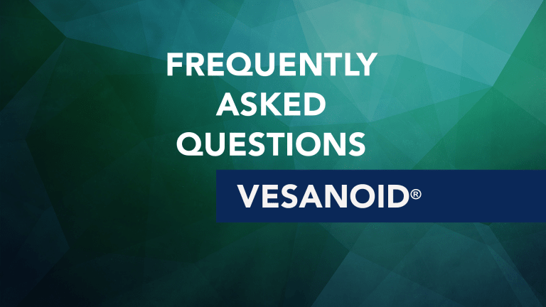 Frequently Asked Questions About Vesanoid® (tretinoin)