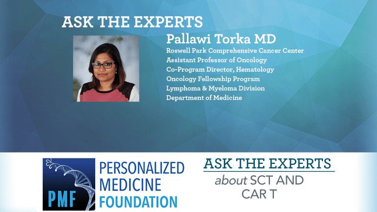 Ask The Expert About CAR T and Stem Cell Transplant for Blood Malignancies