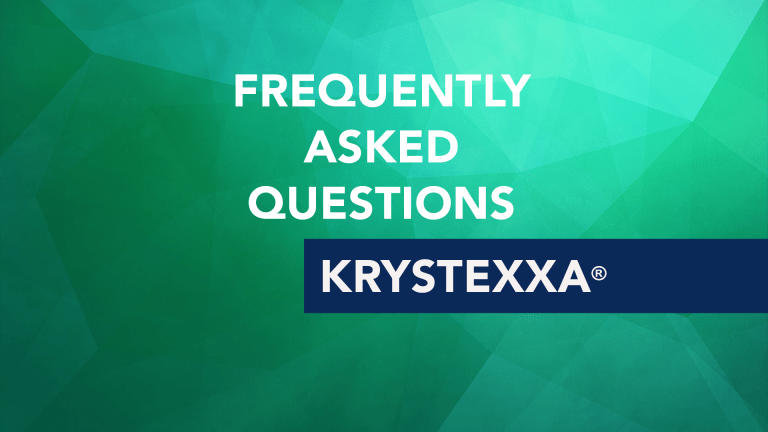 Frequently Asked Questions about Krystexxa® (Pegloticase)
