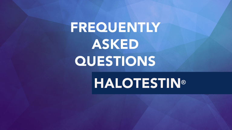 Frequently Asked Questions About Halotestin® (Fluoxymesterone)