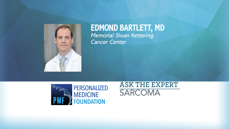 Ask The Expert From Memorial Sloan Kettering About The Treatment of Sarcomas