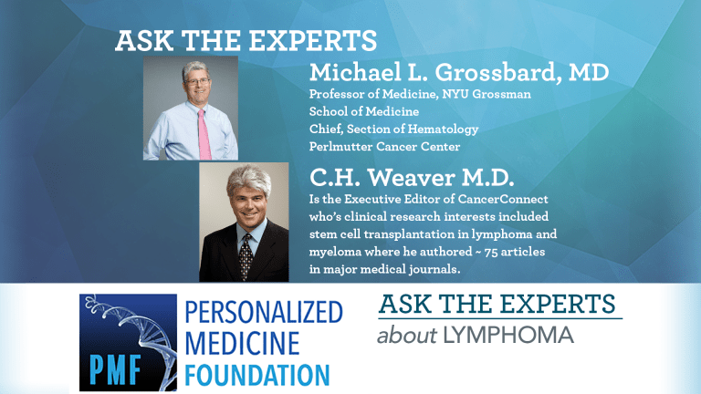 Ask The Experts About Lymphoma
