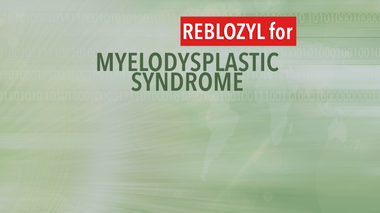 Reblozyl® Approved to Treat Anemia for Lower-Risk Myelodysplastic Syndromes