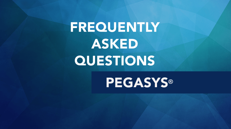 Frequently Asked Questions About Pegasys® (peg interferon)