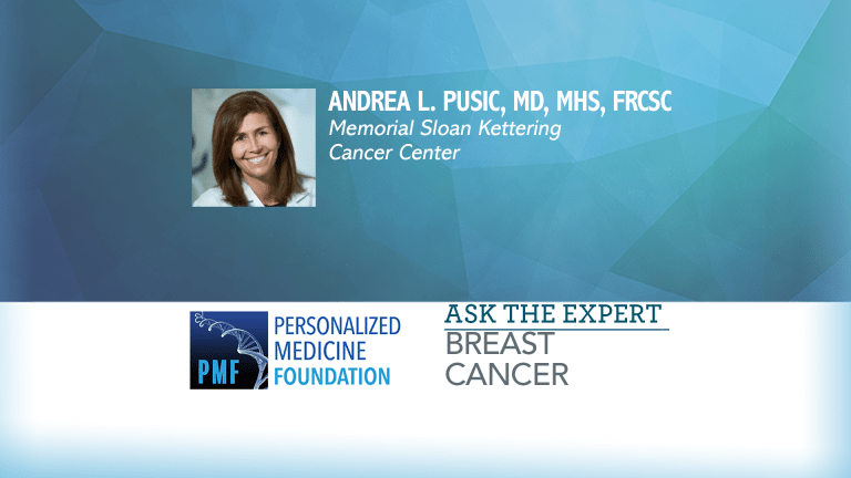 Ask The Expert from Sloan Kettering Cancer Center About Breast Reconstruction