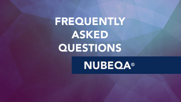 Frequently Asked Questions about Nubeqa® (darolutamide)