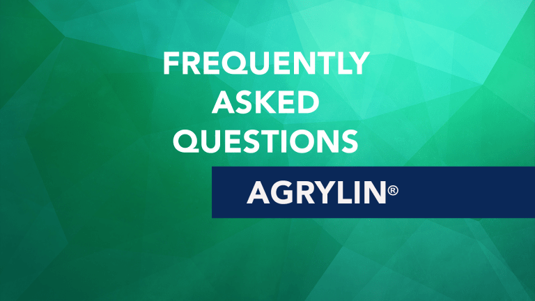 Frequently Asked Questions About Agrylin® (Anagrelide)