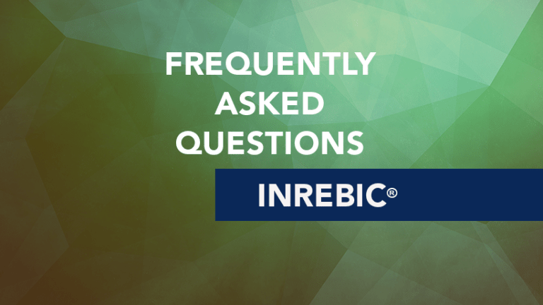 Frequently Asked Questions about Inrebic® (fedratinib)
