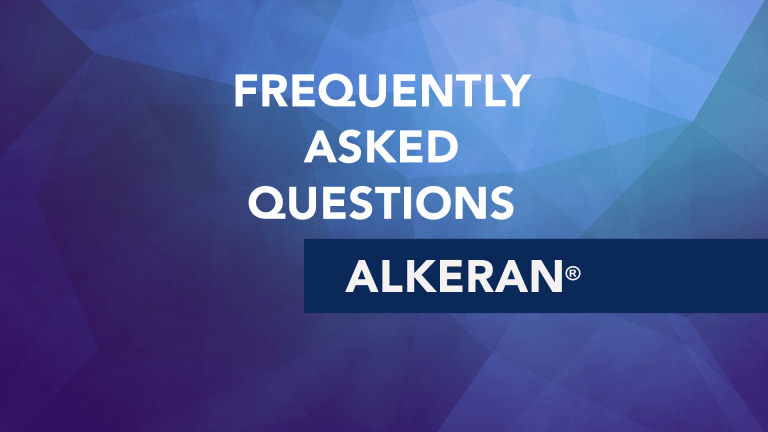 Frequently Asked Questions about Alkeran® (melphalan)