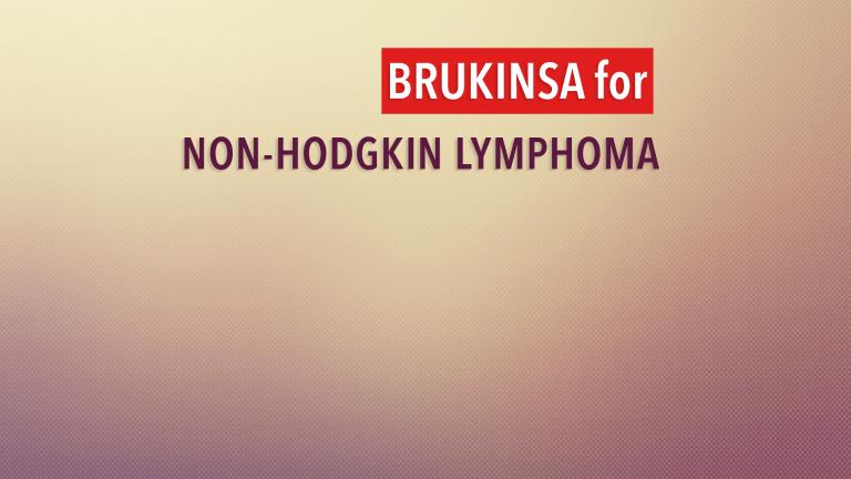 Brukinsa BTK Inhibitor Treatment for Lymphoma