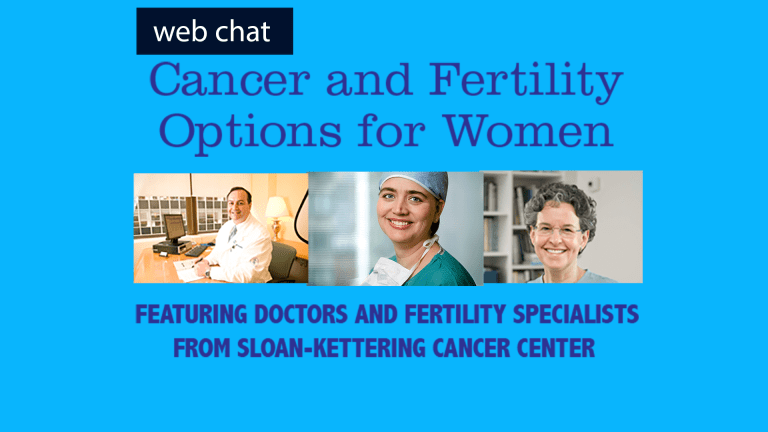 Cancer and Fertility Options for Women