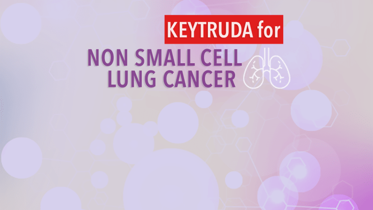 Keytruda Doubles Survival Compared to Chemotherapy Treatment of NSCLC