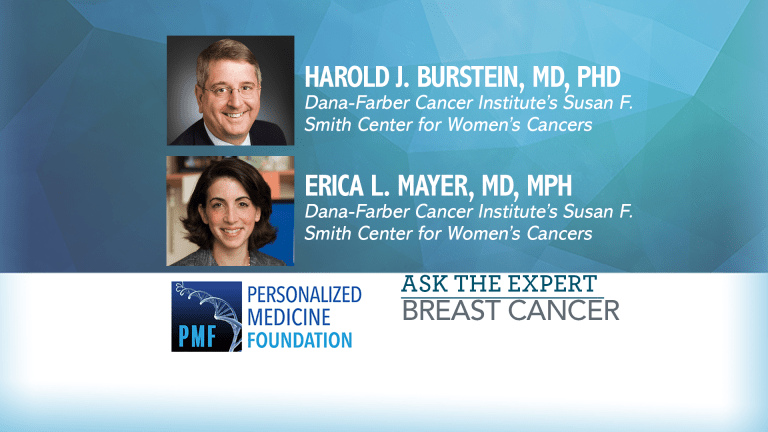 Question and Answer Session with Dana-Farber Breast Cancer Experts