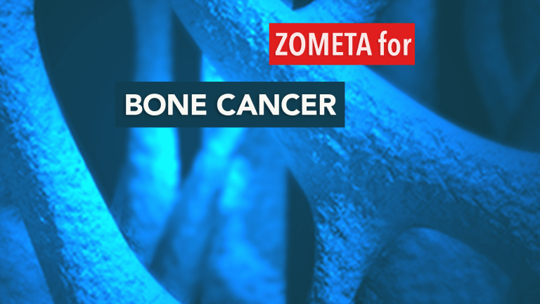 Zometa® Reduces Skeletal Complications Compared to Placebo