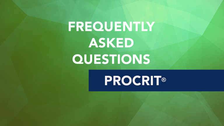 Frequently Asked Questions About Procrit®