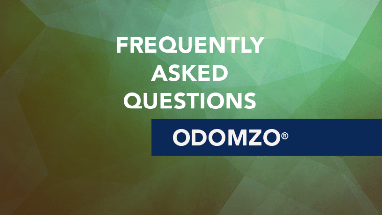 Frequently Asked Questions about Odomzo® (Sonidegib)