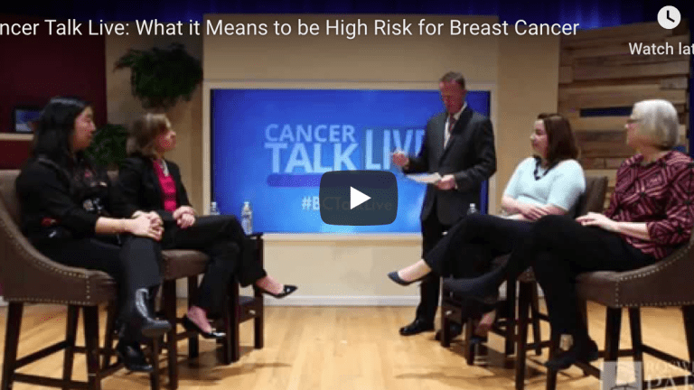 Roswell Park Cancer Institute Experts Discuss High-Risk Breast Cancer