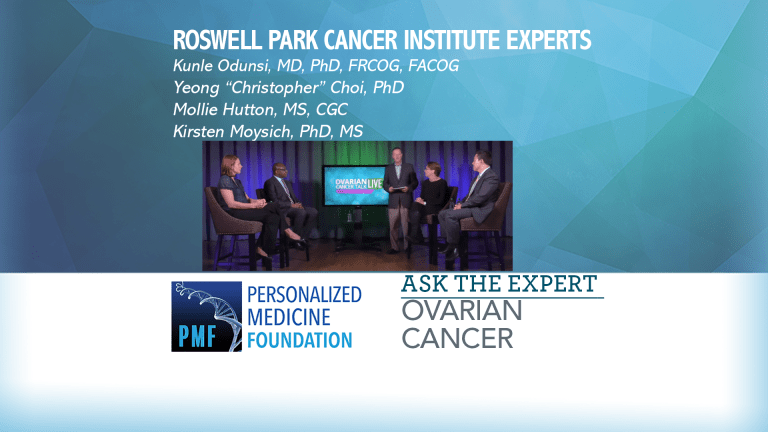 Roswell Park Cancer Institute Experts Discuss Ovarian Cancer Research
